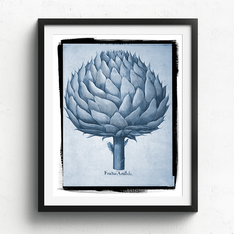 Artichoke Art Print available at Viola Joyner Creative