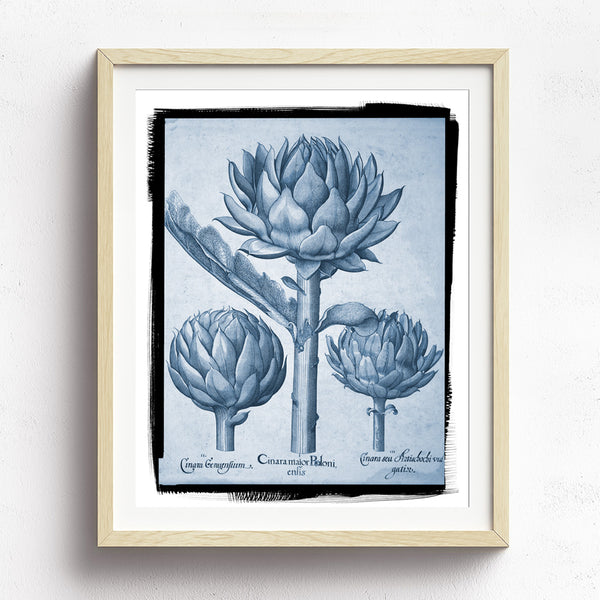 Vintage Magnolia Floral Art Print available at Viola Joyner Creative