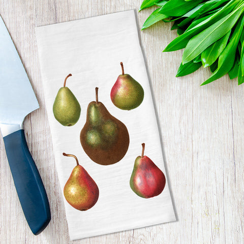Pear Tea Towels - No. 3 available at Viola Joyner Creative