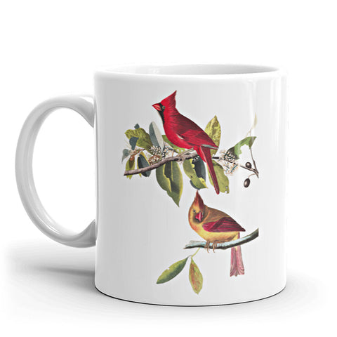 Red Cardinals Coffee Mug available at VJ Creative Lifestyle