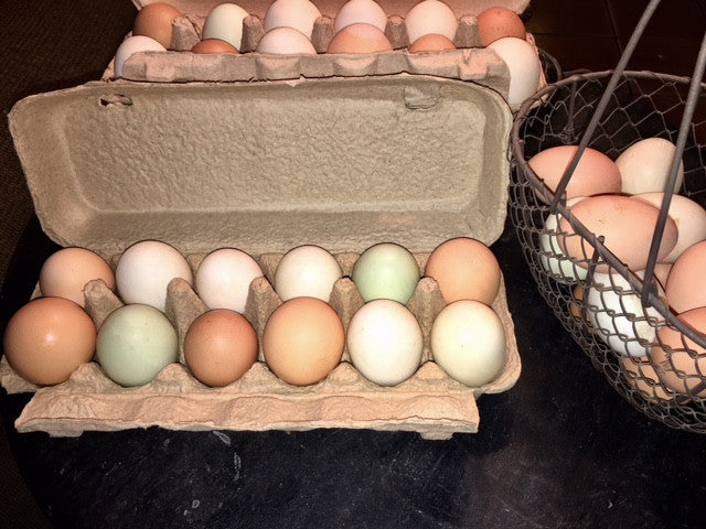 1 dozen eggs (Local delivery or pick up only)