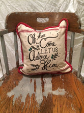 Square Christmas Pillow