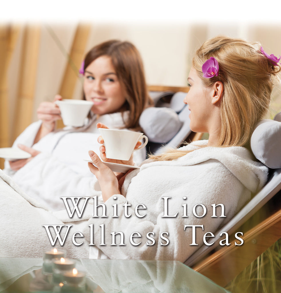 Introducing: White Lion Wellness Teas