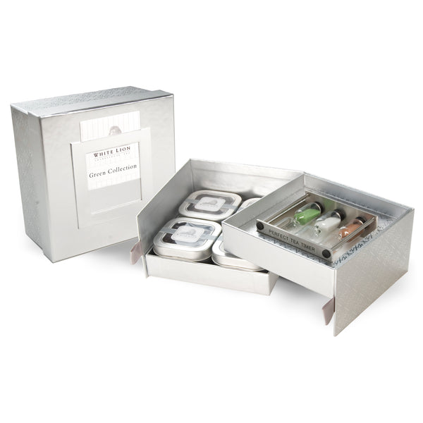 Green Tea Timer Gift Set