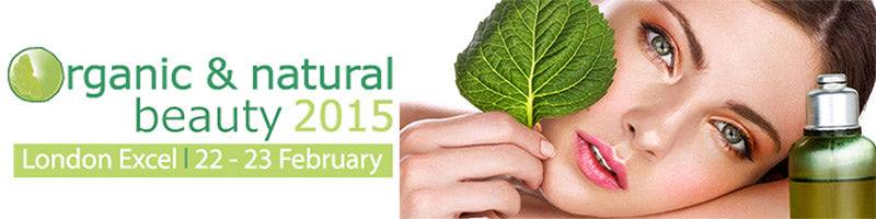 Join us @ The Organic and Natural Beauty Show 2015