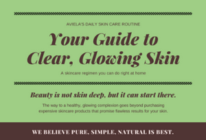 How to take care of dry skin with Aviela products