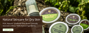 Natural skincare for dry skin - Aviela