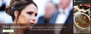 Victoria Beckham loves natural ingredients