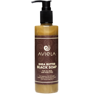 Liquid Black Soap - Aviela Skincare UK