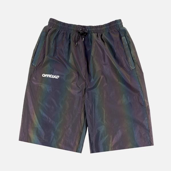 RFLCTIV Squid Ink Shorts Rainbow Reflective