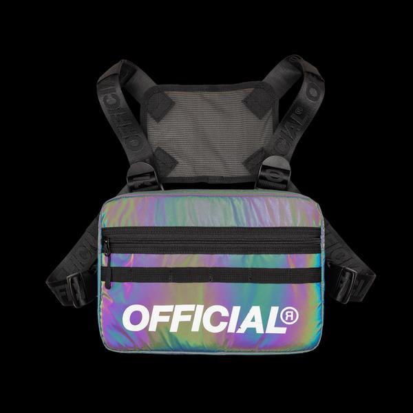 RFLCTIV Squid Ink Reflective Chest Bag