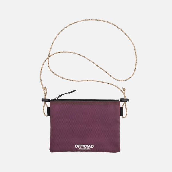 Vapour Mini Satchel-Burgundy