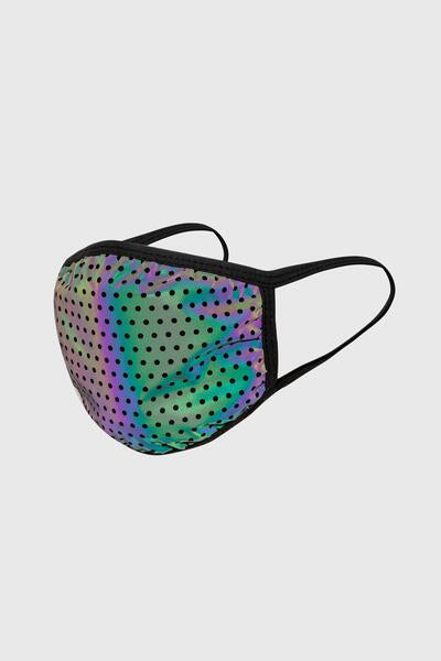 Face Mask Rainbow Reflective