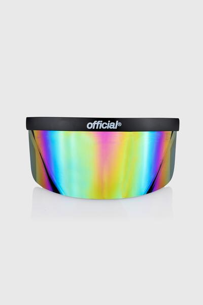 Rainbow Mirror Face Visor Eye Shield