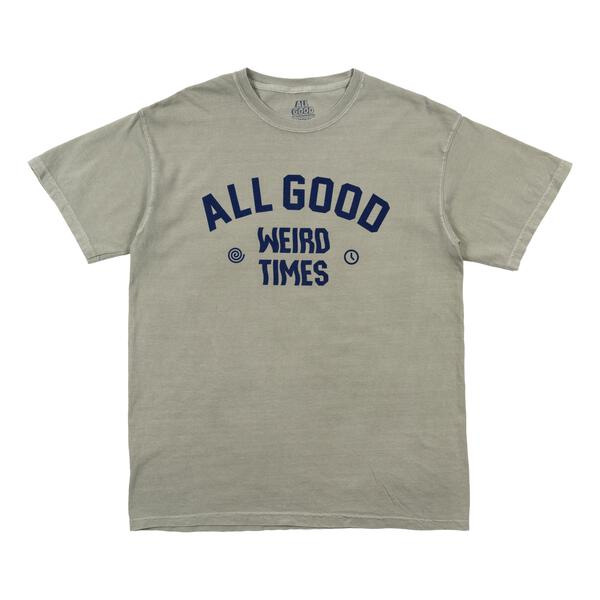 All Good Weird Times Tee (Sandstone)