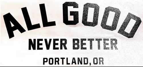 All Good PDX decal