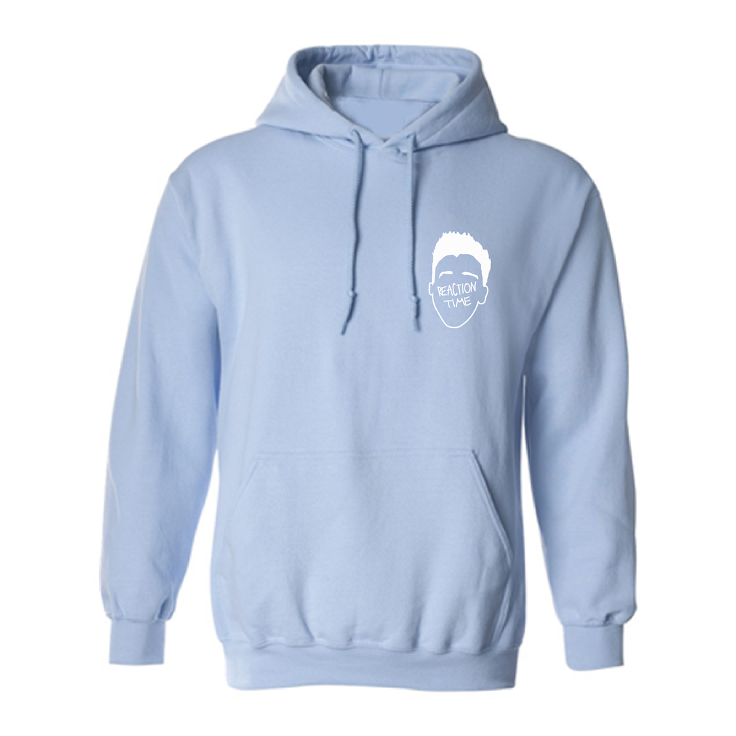 REACTION HEAD HOODIE (LIMITED EDITION LIGHT BLUE)