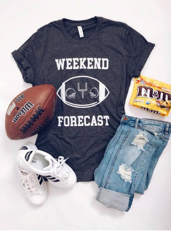 Football graphic tee