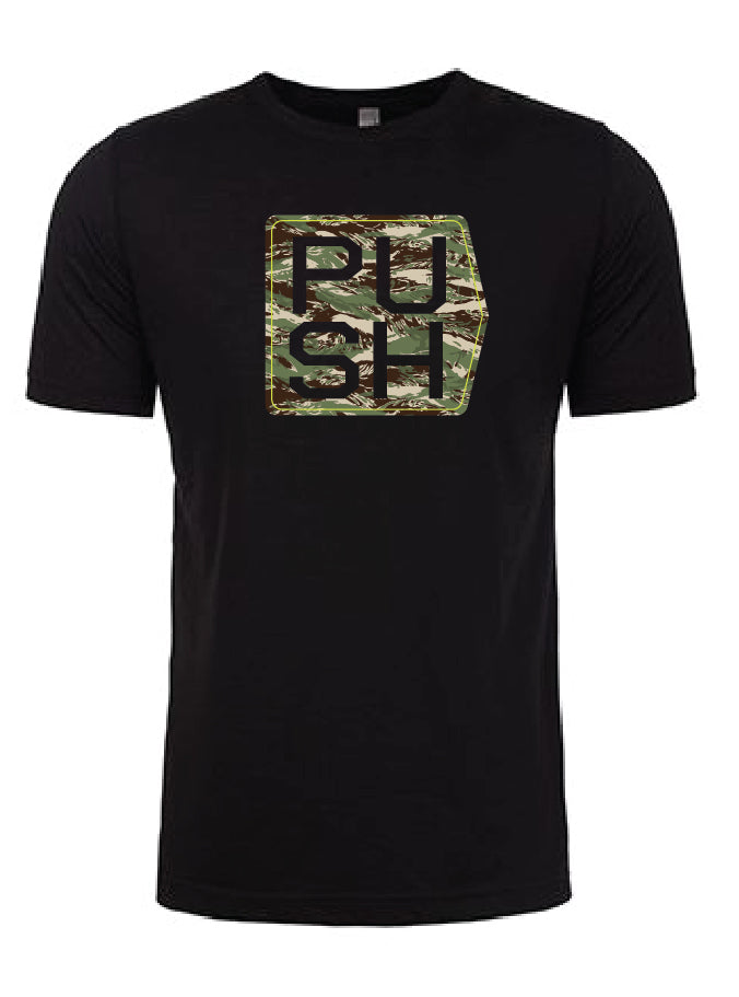 T-Shirt Cubed | Black & Camo
