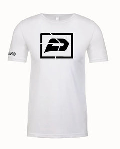 T-Shirt Traditional | White with Black IKON