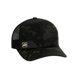 Push Snapback Hat | Multicam Black