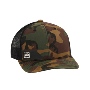 Push Snapback Hat | Green Camo