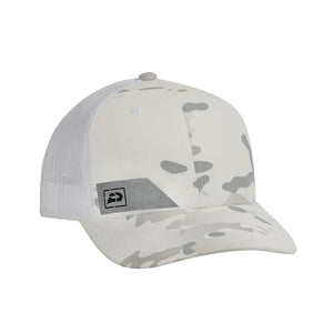 Push Snapback Hat | Multicam Alpine White