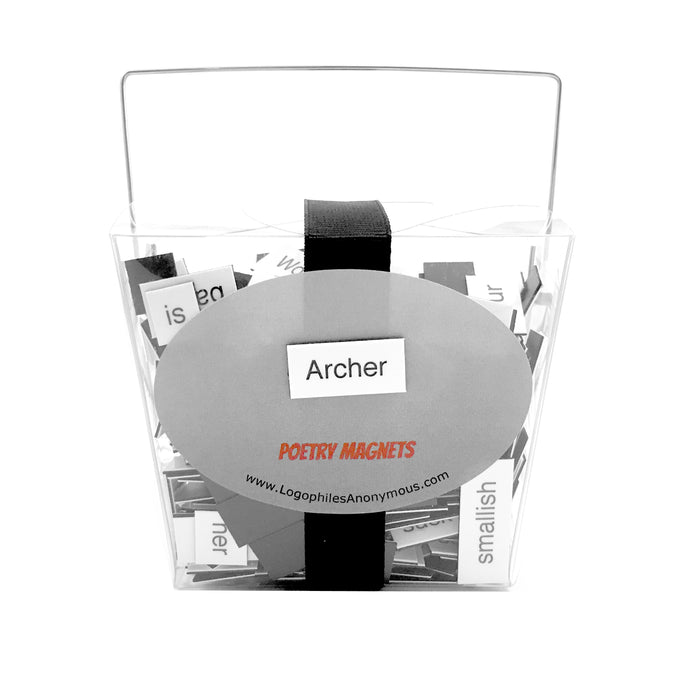 Archer Magnetic Poetry
