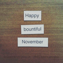 Four Seasons Poetry Magnets