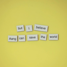 Avatar: The Last Airbender Magnetic Poetry