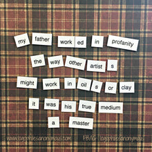 A Christmas Story Poetry Magnets