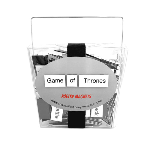 Game of Thrones Magnetic Poetry