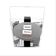 Horror Stories Poetry Magnets
