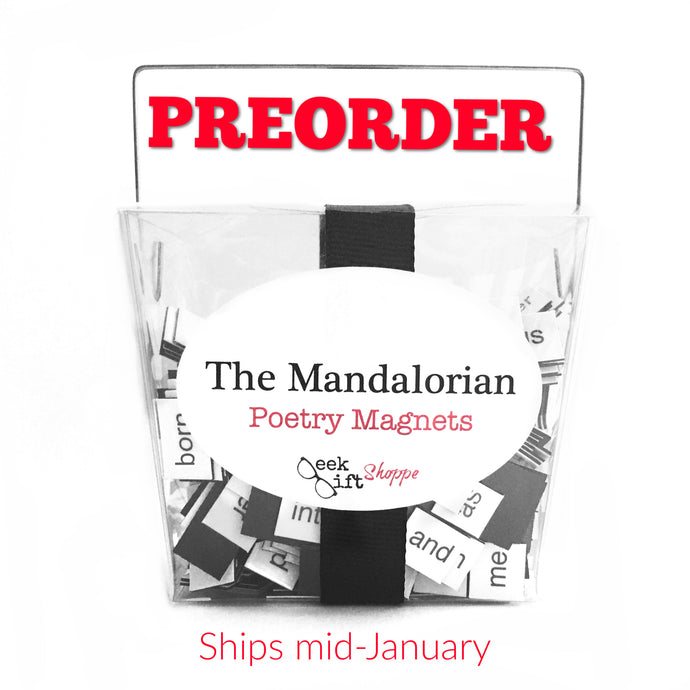 The Mandalorian Poetry Magnets