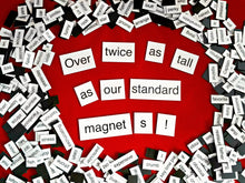 Jumbo Magnetic Poetry