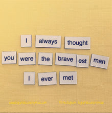 Merlin Poetry Magnets