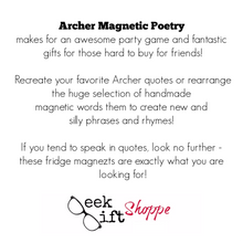 Archer Poetry Magnets
