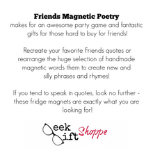 Friends Poetry Magnets