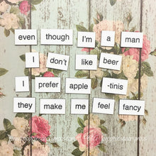 Scrubs Poetry Magnets