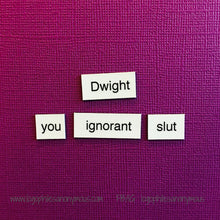 The Office Magnetic Poetry