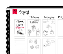 Geeky Gwennie Loves Halloween Planner Stickers / G013