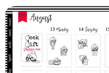 Geeky Gwennie Does Social Media Planner Stickers
