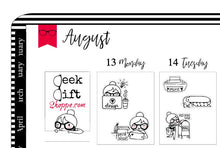 Geeky Gwennie Has An Etsy Shop Planner Sticker