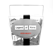 Legend of Korra Magnetic Poetry