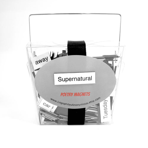 Supernatural Magnetic Poetry