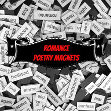 Romance Poetry Magnets