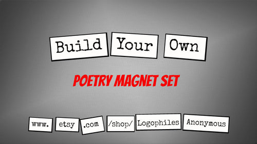 Build-Your-Own Poetry Magnets