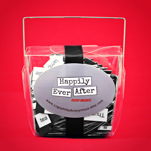 Happily Ever After Poetry Magnets