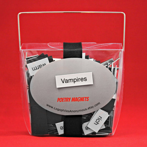 Vampires Poetry Magnets