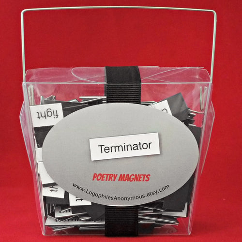 Terminator Poetry Magnets